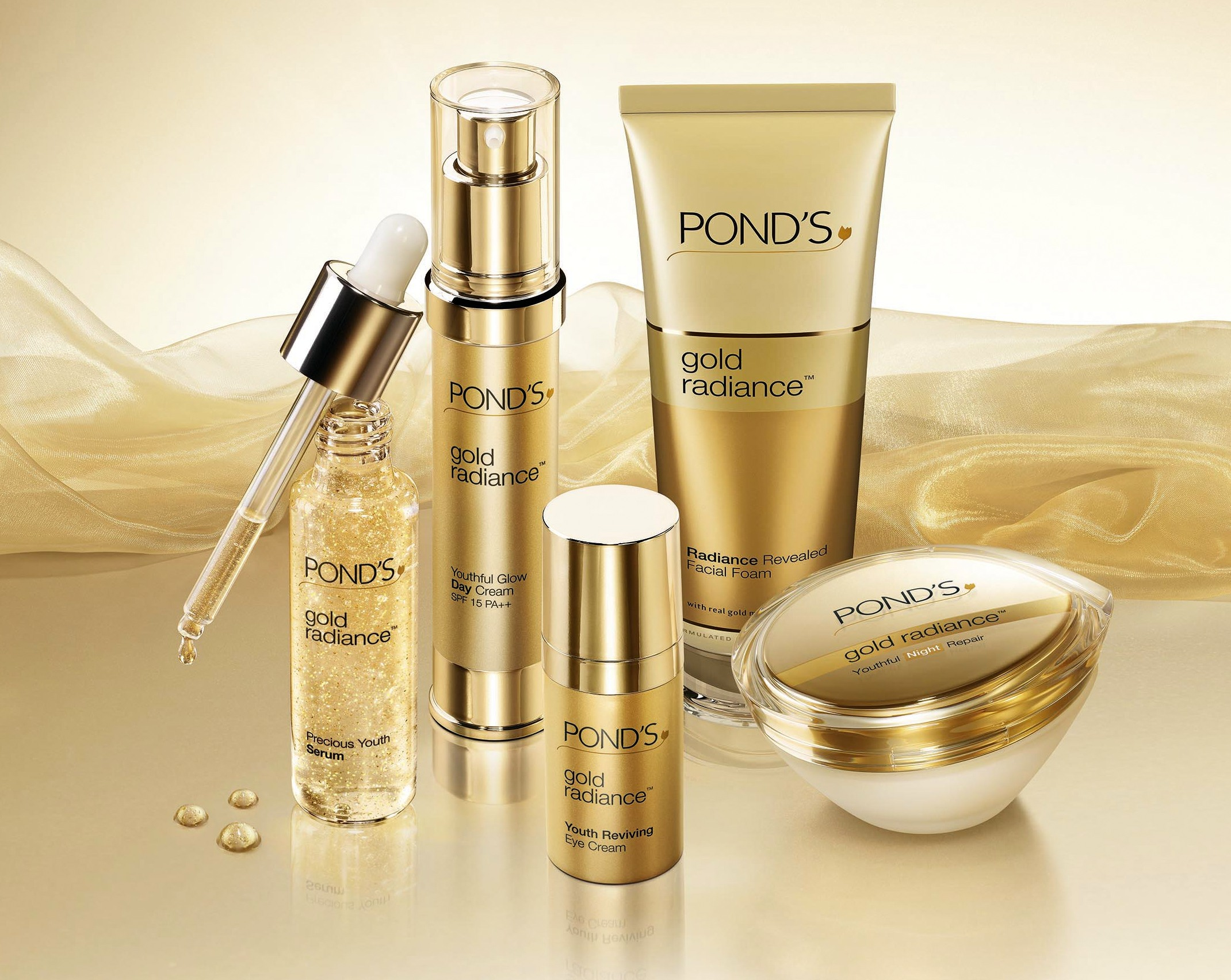 Ponds gold radiance the review shahnaz loves beauty for Ponds products