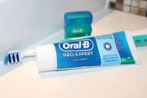 Oral B pro expert toothpaste