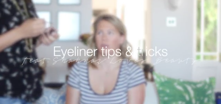how to apply gel liner