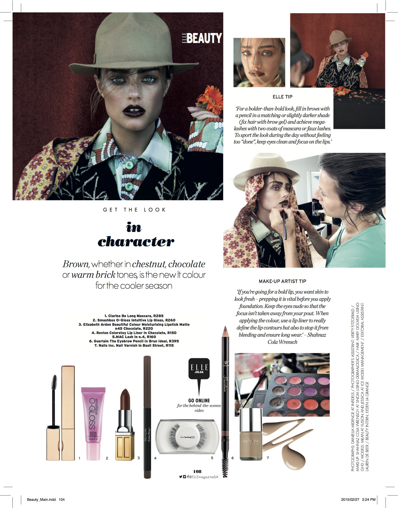 Elle Beauty How To
