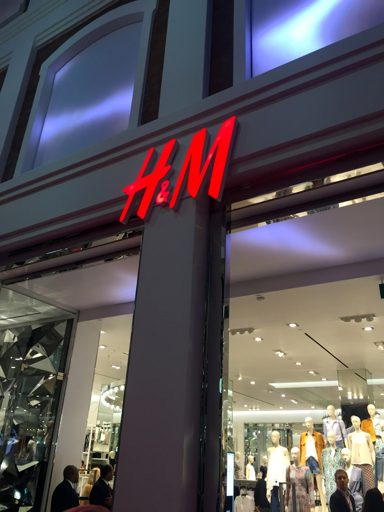 H&M Launches in SA