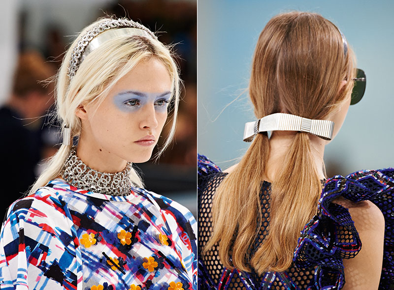 Chanel-Spring-2016-Hairstyle-Pigtails