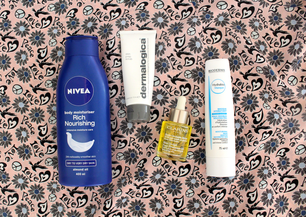 Holiday skin beauty essentials
