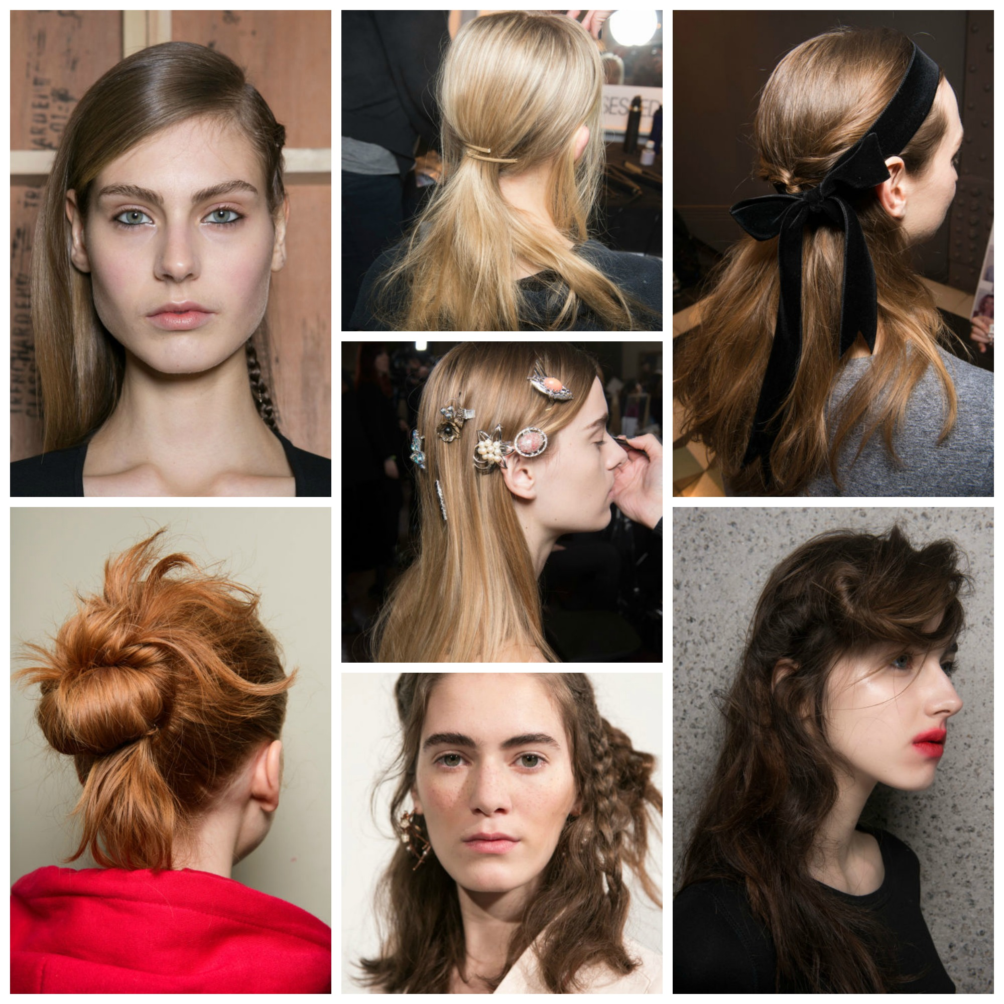 My Fav Hairstyles from LFW AW17