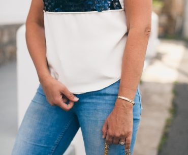 The Tamara Cherie Sequin Top