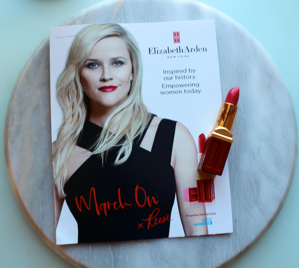 Elizabeth Arden and Reese Witherspoon March on For Women