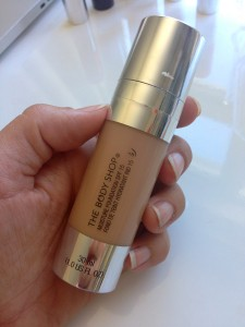 Body Shop Moisture Foundation