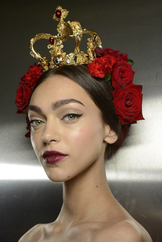 Milan_Fashion_Week_Beauty_Dolce__Gabbana_SpringSummer_1510