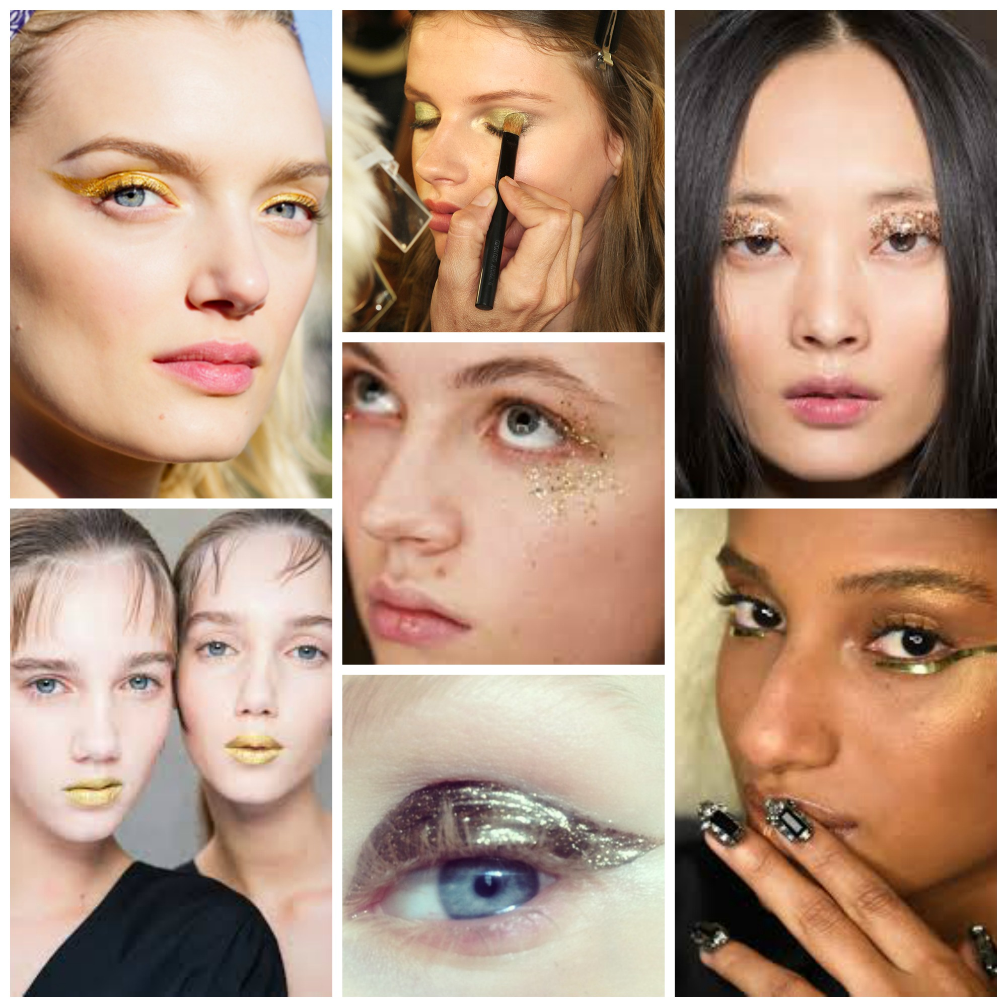 f1b594e90c1 The Gold Makeup Trend - Shahnaz Loves Beauty