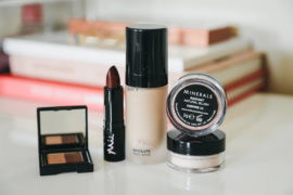 pretty makeup look with mii cosmetics