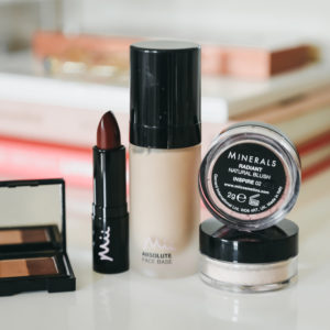 A Pretty Makeup Look with Mii Cosmetics + Giveaway