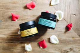 body shop hair masks and scrubs