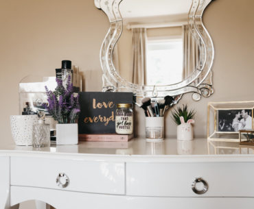 Affordably Style your Vanity Table