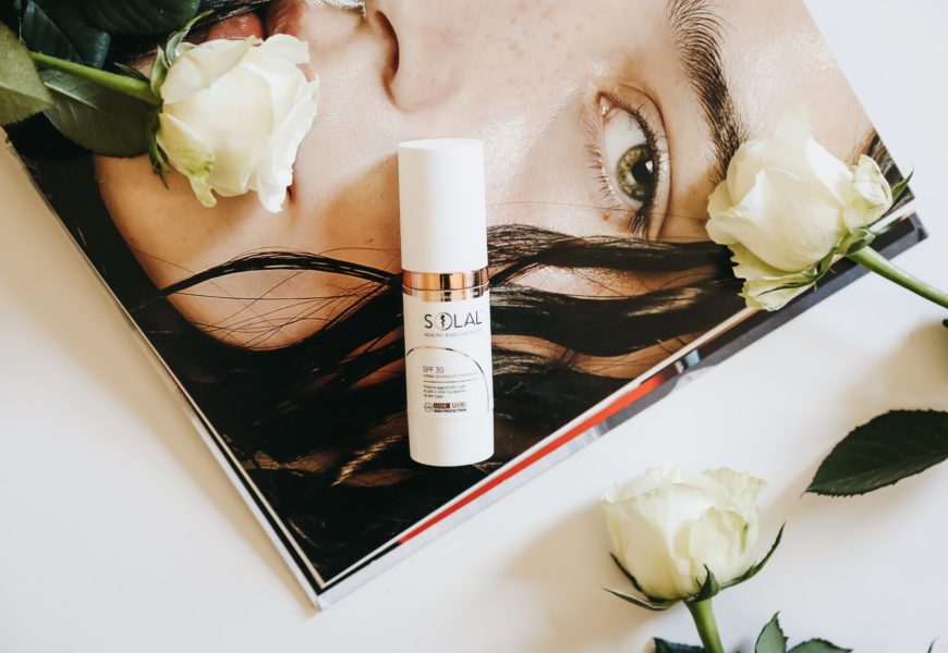 Healthy Ageing with The Solal Face Sunscreen
