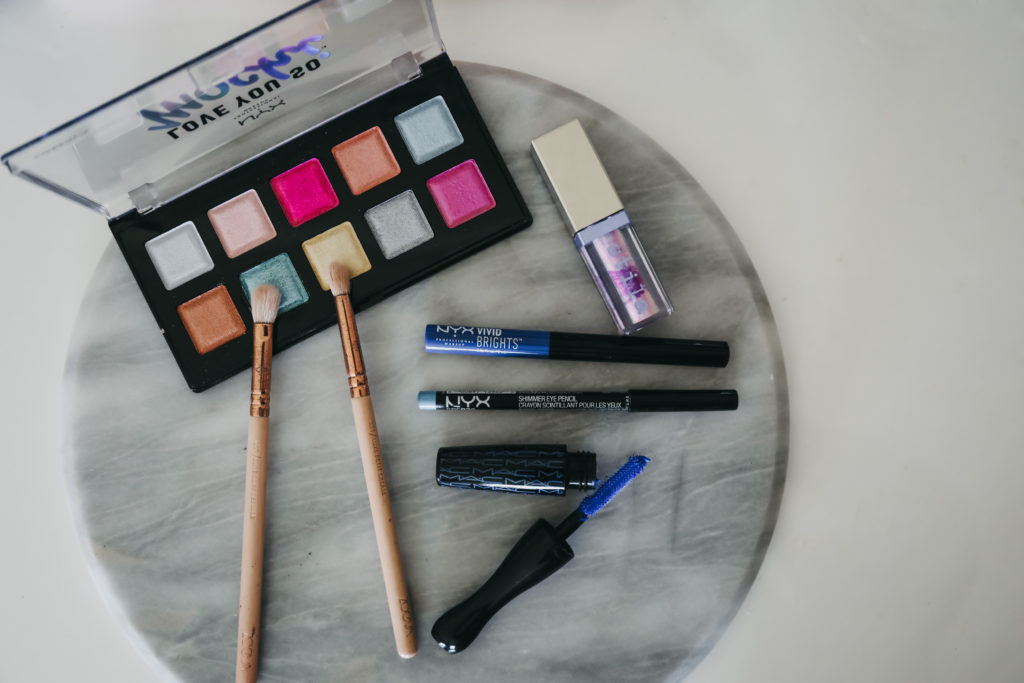 Touch of Colour Makeup Look