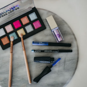 A Little Touch of Colour Makeup Look