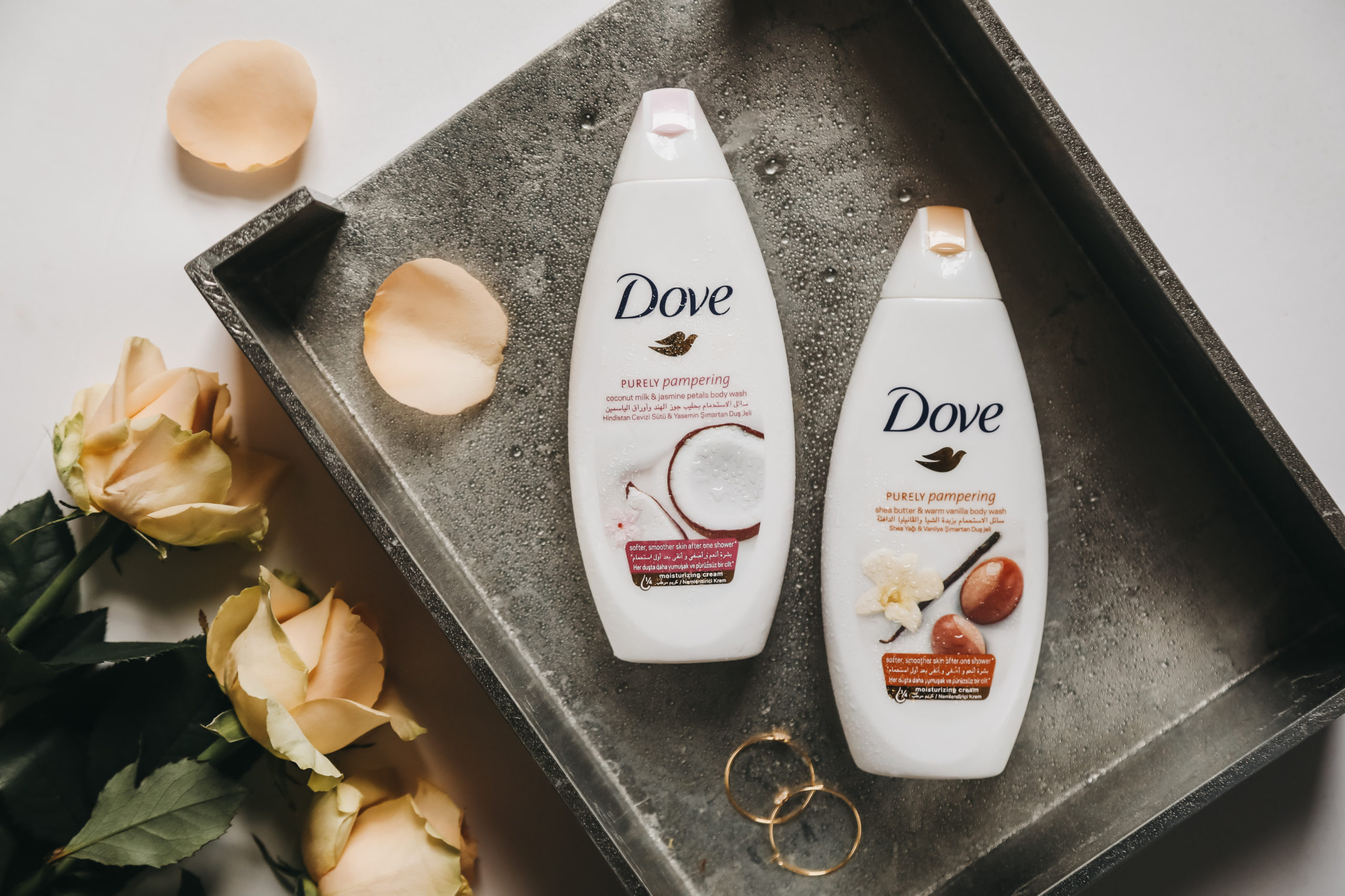 purely pampering dove body wash
