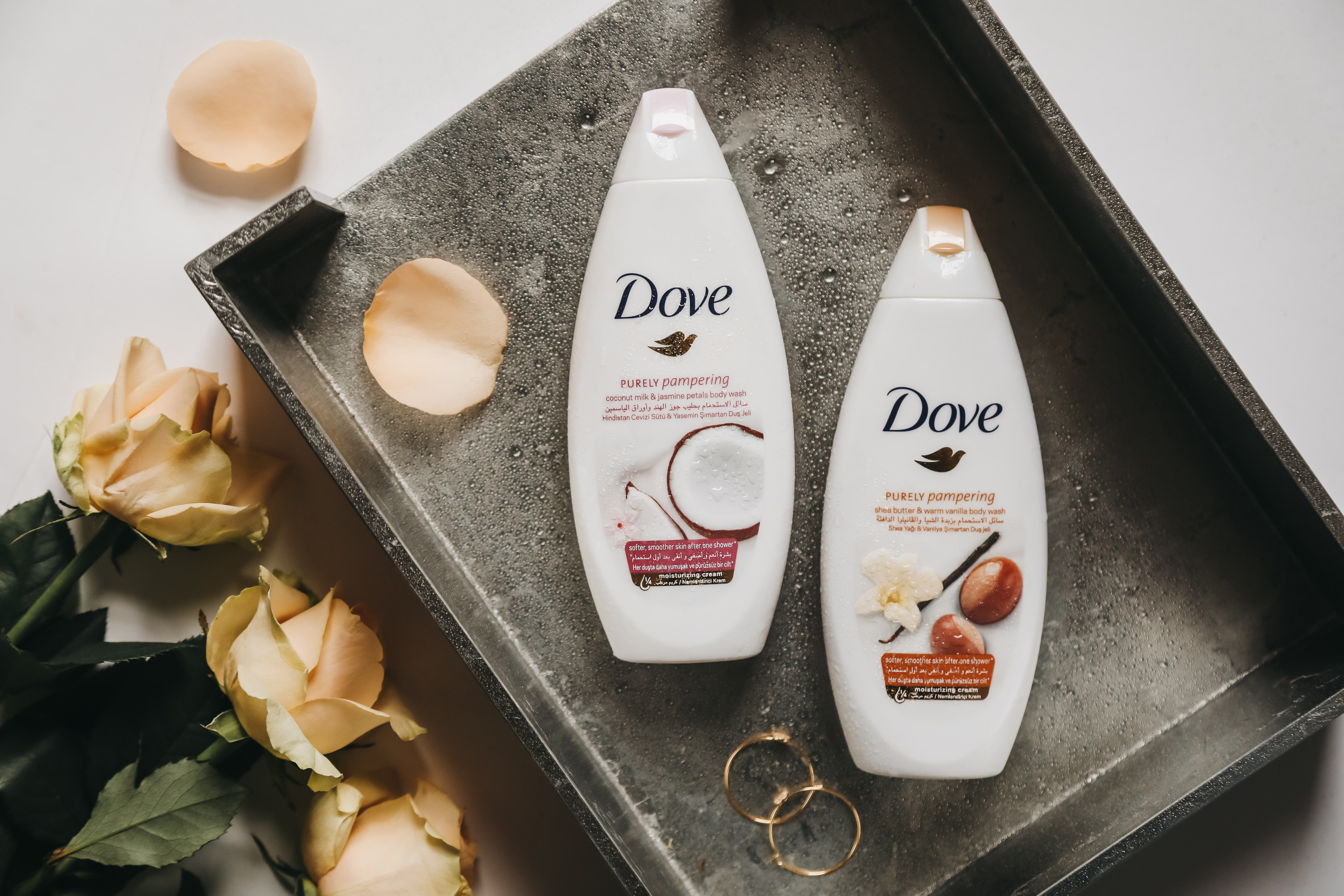 New Scents From Purely Pampering Dove Body Wash Shahnaz Loves Beauty
