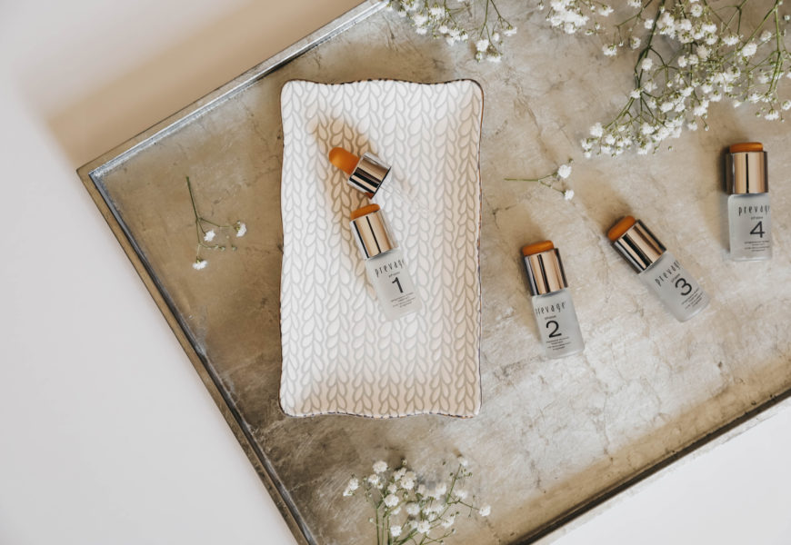 Glowing with the Prevage Progressive Renewal Treatment
