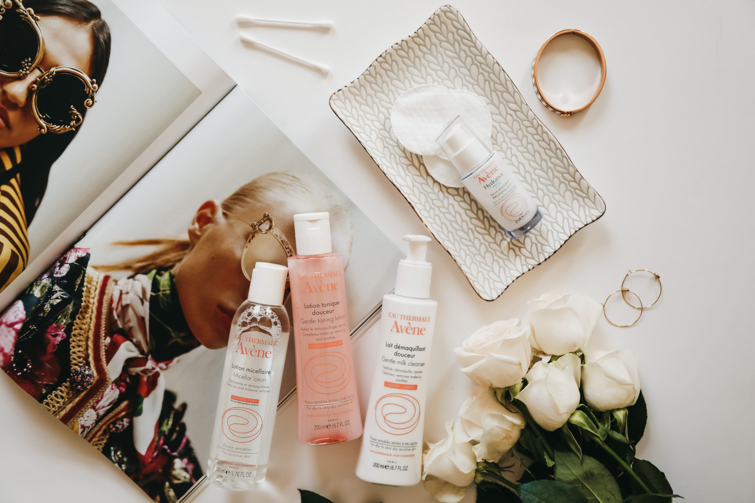hydrated with Avene skincare