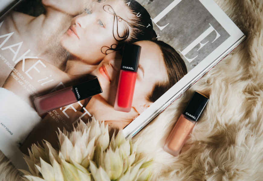 The Gorgeous Chanel Rouge Allure Ink Lipsticks
