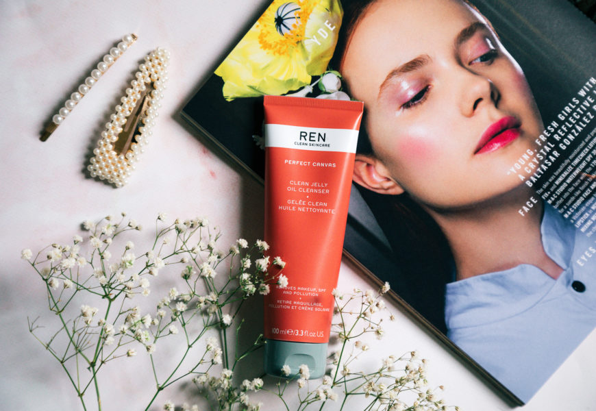 The Ren Perfect Canvas Clean Jelly Oil Cleanser