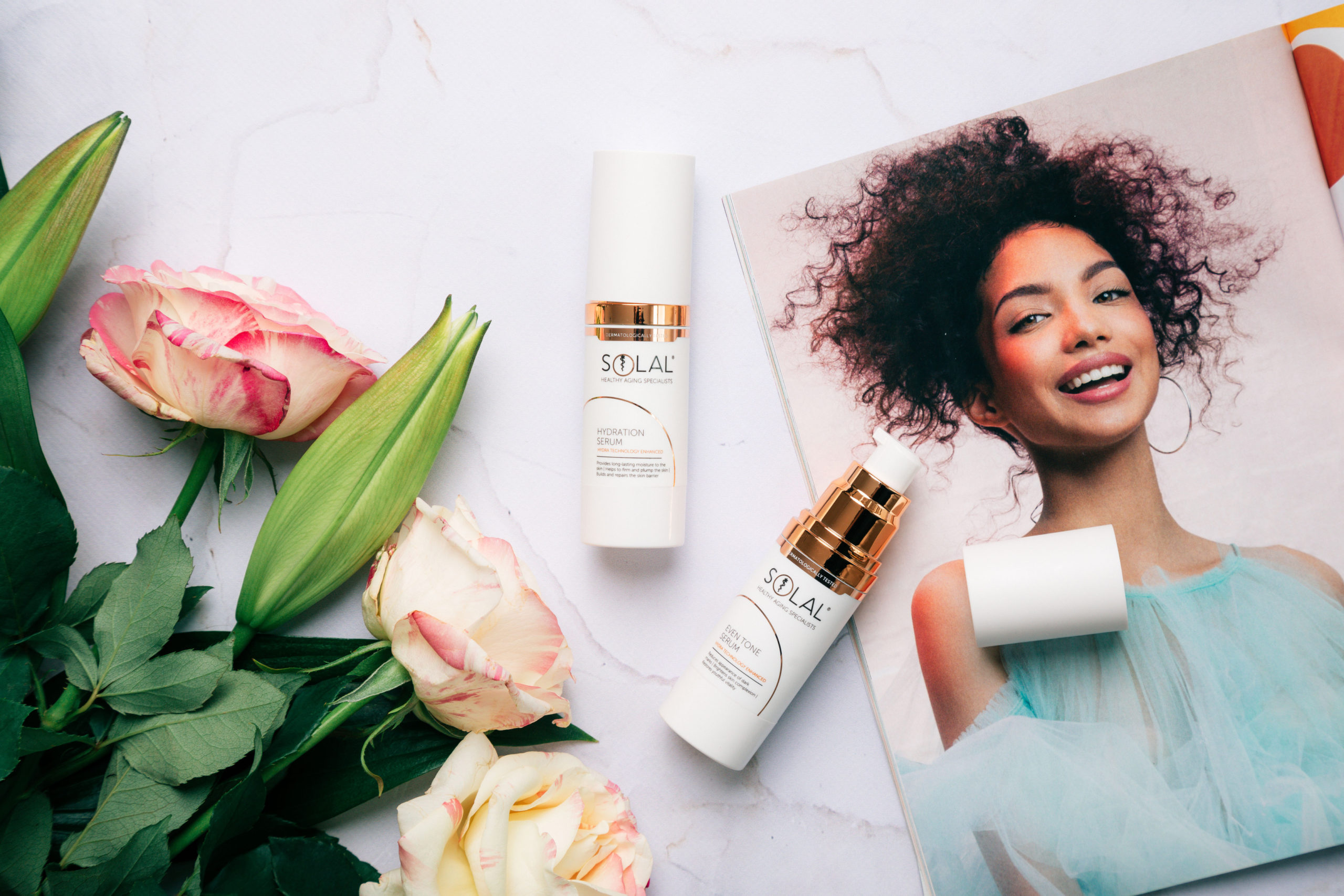 Get Glowing Skin with Solal Serums