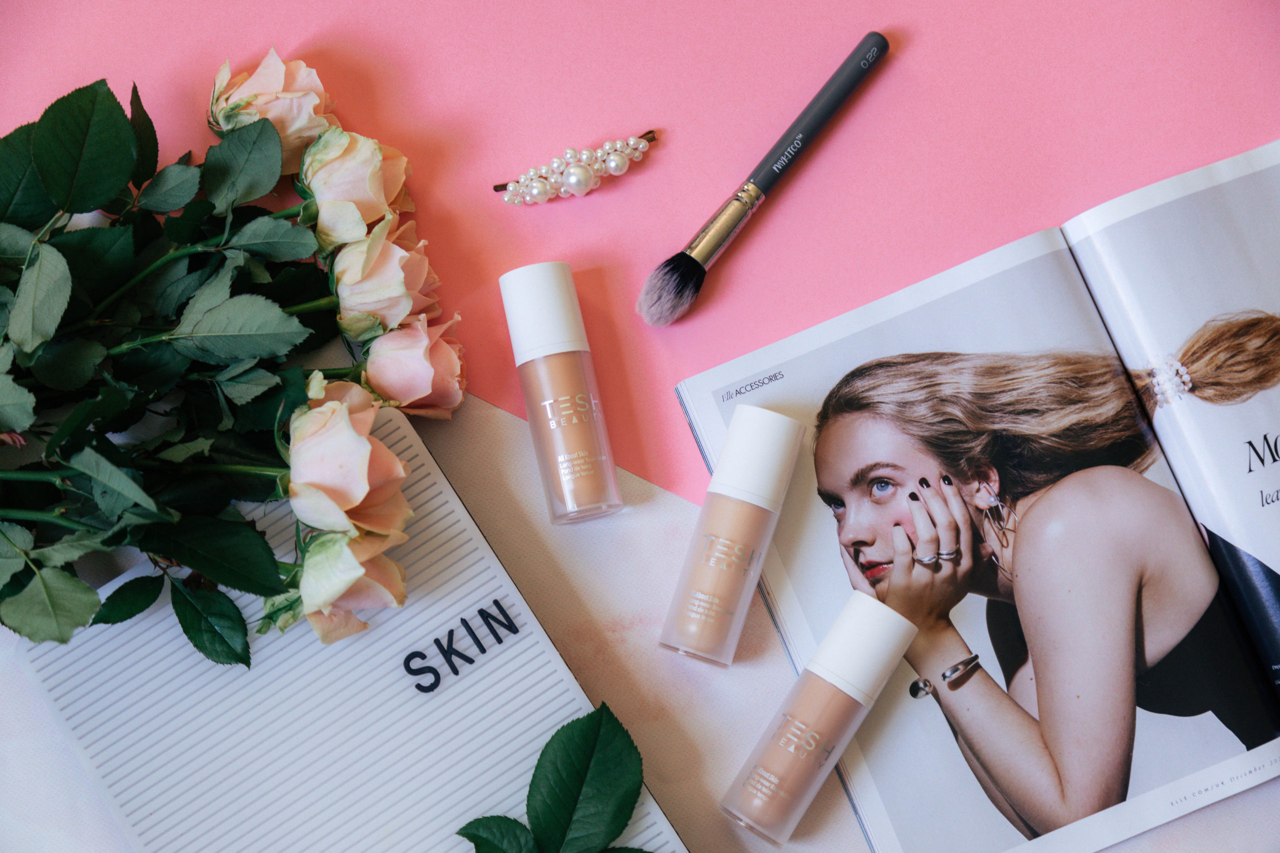 Tesh Beauty All About Skin Foundation